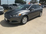 2013 Sterling Gray Metallic Ford Fusion S #83883721