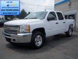 2013 Summit White Chevrolet Silverado 1500 LT Crew Cab 4x4 #83883715