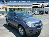 2013 Atlantis Blue Metallic Chevrolet Equinox LT AWD #83884303