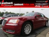 2012 Deep Cherry Red Crystal Pearl Chrysler 300  #83935075