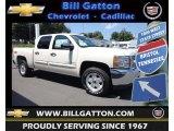 2013 White Diamond Tricoat Chevrolet Silverado 1500 LT Crew Cab 4x4 #83935278