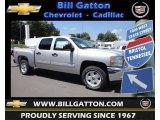 2013 Silver Ice Metallic Chevrolet Silverado 1500 LT Crew Cab 4x4 #83935276
