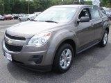 2010 Mocha Steel Metallic Chevrolet Equinox LS #83934969