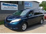 2011 South Pacific Blue Pearl Toyota Sienna LE #83935135