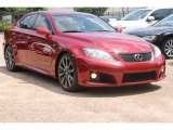 2008 Matador Red Mica Lexus IS F #83954625