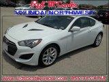 2013 White Satin Pearl Hyundai Genesis Coupe 2.0T Premium #83954559