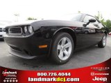 2013 Pitch Black Dodge Challenger SXT #83954601