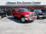 2005 Flame Red Dodge Ram 1500 SLT Regular Cab 4x4 #83961278