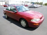 1997 Canyon Red Metallic Geo Prizm LSi #83961275