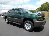 Dark Green Metallic Chevrolet Avalanche in 2003