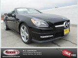2014 Black Mercedes-Benz SLK 350 Roadster #83960969