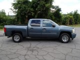 2011 Blue Granite Metallic Chevrolet Silverado 1500 LS Crew Cab #83960968