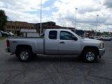 2013 Silver Ice Metallic Chevrolet Silverado 1500 LT Extended Cab 4x4 #83960963