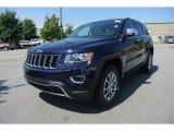 2014 True Blue Pearl Jeep Grand Cherokee Limited 4x4 #83961211