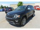 2014 Black Forest Green Pearl Jeep Grand Cherokee Limited 4x4 #83961210