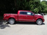 2013 Ruby Red Metallic Ford F150 Platinum SuperCrew 4x4 #83960960
