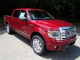 2013 Ford F150 Platinum SuperCrew 4x4 Front 3/4 View