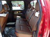 2013 Ford F150 Platinum SuperCrew 4x4 Rear Seat