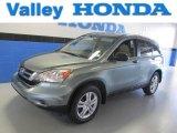 2010 Opal Sage Metallic Honda CR-V EX AWD #83960927