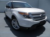2014 White Platinum Ford Explorer XLT #83961094
