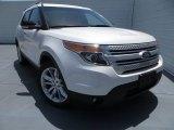 2014 White Platinum Ford Explorer XLT #83961094