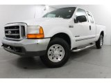 2000 Oxford White Ford F250 Super Duty XLT Extended Cab #83960905