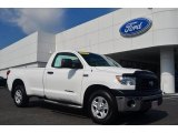 2008 Super White Toyota Tundra Regular Cab #83961019