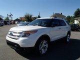 2014 White Platinum Ford Explorer XLT 4WD #83961239