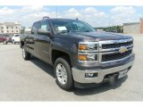 2014 Tungsten Metallic Chevrolet Silverado 1500 LT Crew Cab 4x4 #83961184