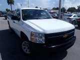 2009 Summit White Chevrolet Silverado 1500 Regular Cab #83991376