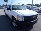 2009 Summit White Chevrolet Silverado 1500 Regular Cab #83991375