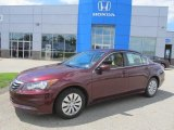2011 Basque Red Pearl Honda Accord LX Sedan #83991164