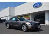 2011 Sterling Gray Metallic Ford Mustang V6 Convertible #83990803