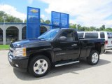 2011 Black Chevrolet Silverado 1500 LT Regular Cab 4x4 #83990730