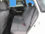 2004 Toyota Matrix XR AWD Rear Seat
