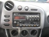 2004 Toyota Matrix XR AWD Audio System