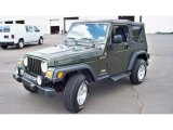 2006 Jeep Green Metallic Jeep Wrangler Sport 4x4 #83990721