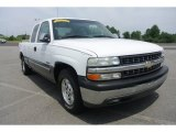 2000 Summit White Chevrolet Silverado 1500 LS Extended Cab #83991148