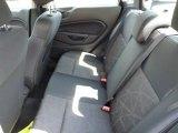 2013 Ford Fiesta SE Sedan Rear Seat