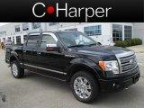2011 Ebony Black Ford F150 Platinum SuperCrew 4x4 #83990610