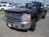 2012 Black Chevrolet Silverado 1500 LS Extended Cab 4x4 #83990605