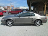 2001 Mineral Grey Metallic Ford Mustang V6 Coupe #83991335