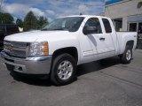 2013 Summit White Chevrolet Silverado 1500 LT Extended Cab 4x4 #83990688