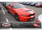 2011 Race Red Ford Mustang Shelby GT500 SVT Performance Package Coupe #83990587