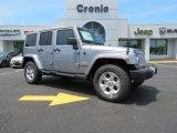 2013 Billet Silver Metallic Jeep Wrangler Unlimited Sahara 4x4 #83990885