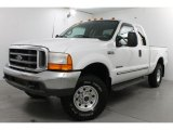 2000 Oxford White Ford F250 Super Duty XLT Extended Cab 4x4 #83990535