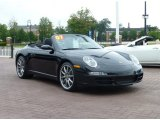 2007 Porsche 911 Carrera Cabriolet Front 3/4 View
