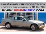 2005 Mineral Grey Metallic Ford Mustang V6 Premium Coupe #83991064
