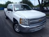 2013 Summit White Chevrolet Silverado 1500 LT Crew Cab #84043152