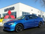 2006 Vivid Blue Pearl Acura RSX Type S Sports Coupe #8401751